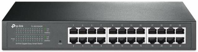 TP-Link sg1024de conmutador Gigabit 24 Port Smart Easy 1000 Ethernet, red VLAN