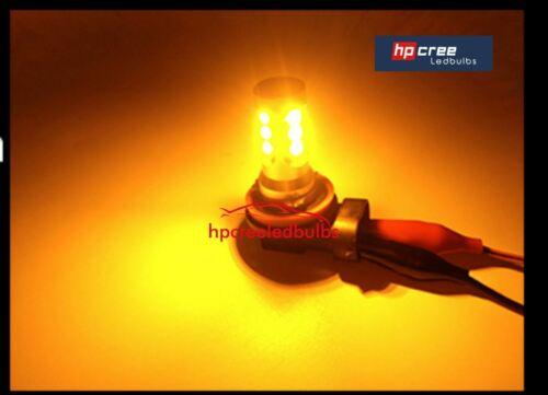 NEW LED UPGRADE 27W PY24W LED AMBER INDICATOR CANBUS LIGHT BULBS BMW M3 E93