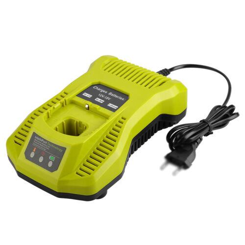 Li-ion NiCad Battery Charger P117 For Ryobi 12V-18V One Plus P104 P108 USB