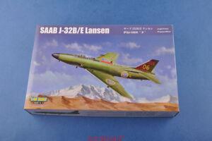 Hobbyboss-1-48-81752-SAAB-J-32B-E-Lansen-Model-kit