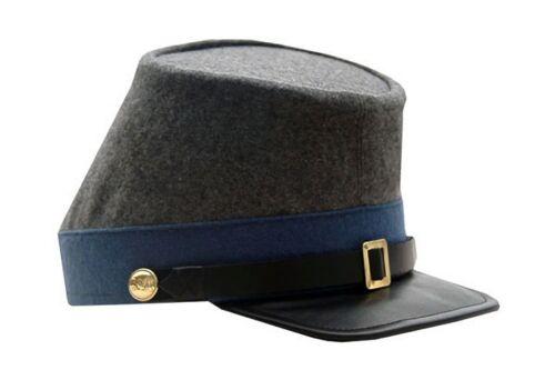 L New Sizes S M XL Confederate Infantry CSA Civil War Kepi Hat