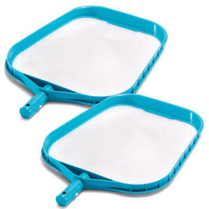 Intex-Leaf-Skimmer-Mesh-Pool-Spa-Hot-Tub-Cleaner-Leaf-Rake-Net-2-Pack