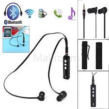 Bluetooth Auricolari Senza Fili Headset Cuffie Stereo Sport Universal Handfree