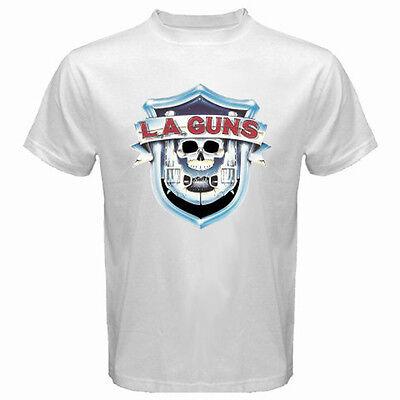 New GUNS AND ROSES GUNS N ROSES Hard Rock Band Men/'s White T-Shirt Size S to 3XL