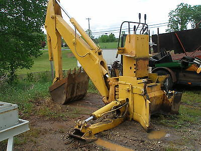 John Deere Backhoe Attachment >> John Deere Hydraulic Backhoe Attachment Ebay