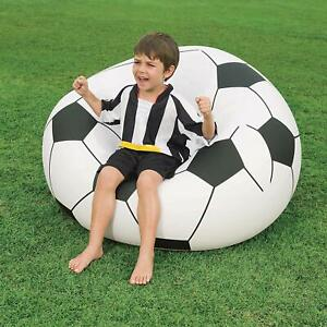 Surprising Details About Bestway Football Design Leisair Inflatable Beanless Football Chair Ibusinesslaw Wood Chair Design Ideas Ibusinesslaworg