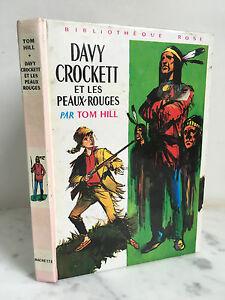 Davy-Crockett-E-I-Pelle-Rosso-Tom-Hill-Libreria-Rosa-1966