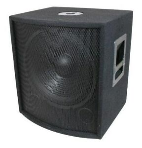 """NEW 15/"""" Subwoofer Replacement Speaker 8 ohm Woofer DJ PA Home Pro Audio"""