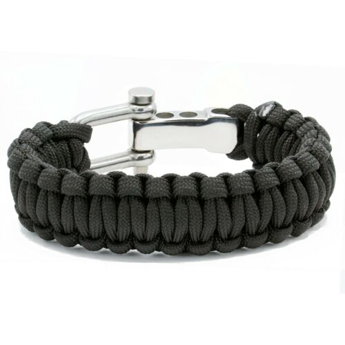 Paracord Armband Survivalarmband Outdoor Prepping Wolflock Survivalist