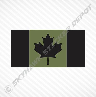 Canada Day Canadian Flags Contour  Cut Vinyl Sticker Bundle
