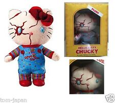 Halloween 2016 Plush Doll Stuffed Hello Kitty x Chucky LIMITED EDITION Japan F/S