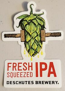 Deschutes-Brewery-Fresh-Squeezed-IPA-Sticker-Craft-Beer-Brewing-Decal-Sign-New
