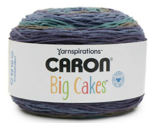 NEW-Caron-BIG-Cakes-Yarn-Blueberry-Torte-10-5oz-603-Yards-4-Weight
