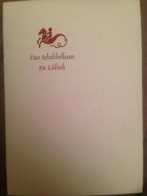 Schabbelhaus Lübeck Speisekarte