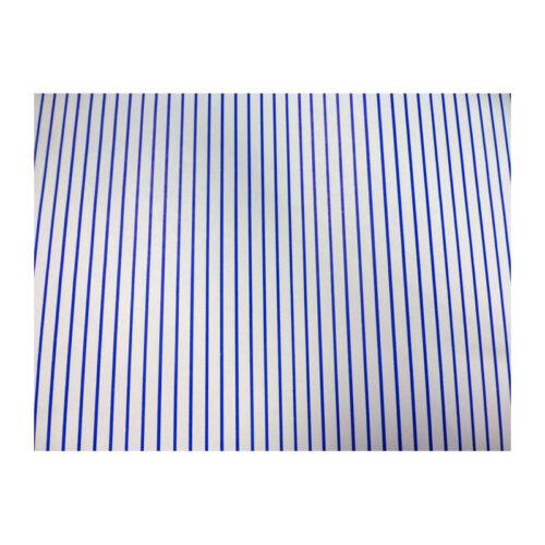 Sa-dollshouse wp1040 carta da Parati Strisce Blu 29x42 cm 1:12 per casa delle Bambole Nuovo! #