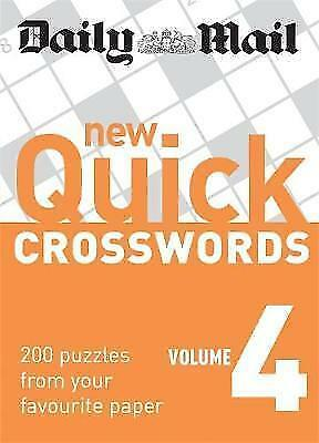 1 of 1 - Daily Mail New Quick Crosswords vol 4 BRAND NEW BOOK (Paperback)