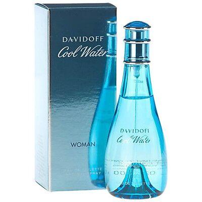 DAVIDOFF COOL WATER (W) 100ML EDT SPRAY