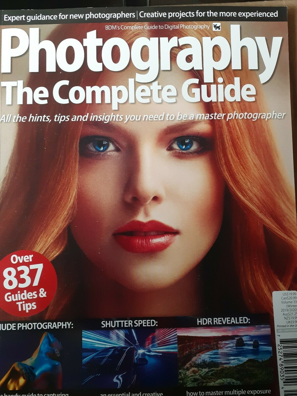 Photography The Complete Guide Over 837 Guides&tips...2020 2