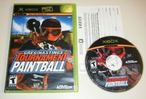 Greg-Hastings-039-Tournament-Paintball-GAME-amp-CASE-for-your-XBOX-system-G-TEEN-KIDS