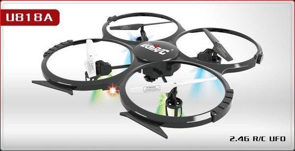 nuovo U818A gree Quadcopter with telecamera  UFO LCD Remote RC Drone Helicopter 2.4G  migliori prezzi e stili più freschi