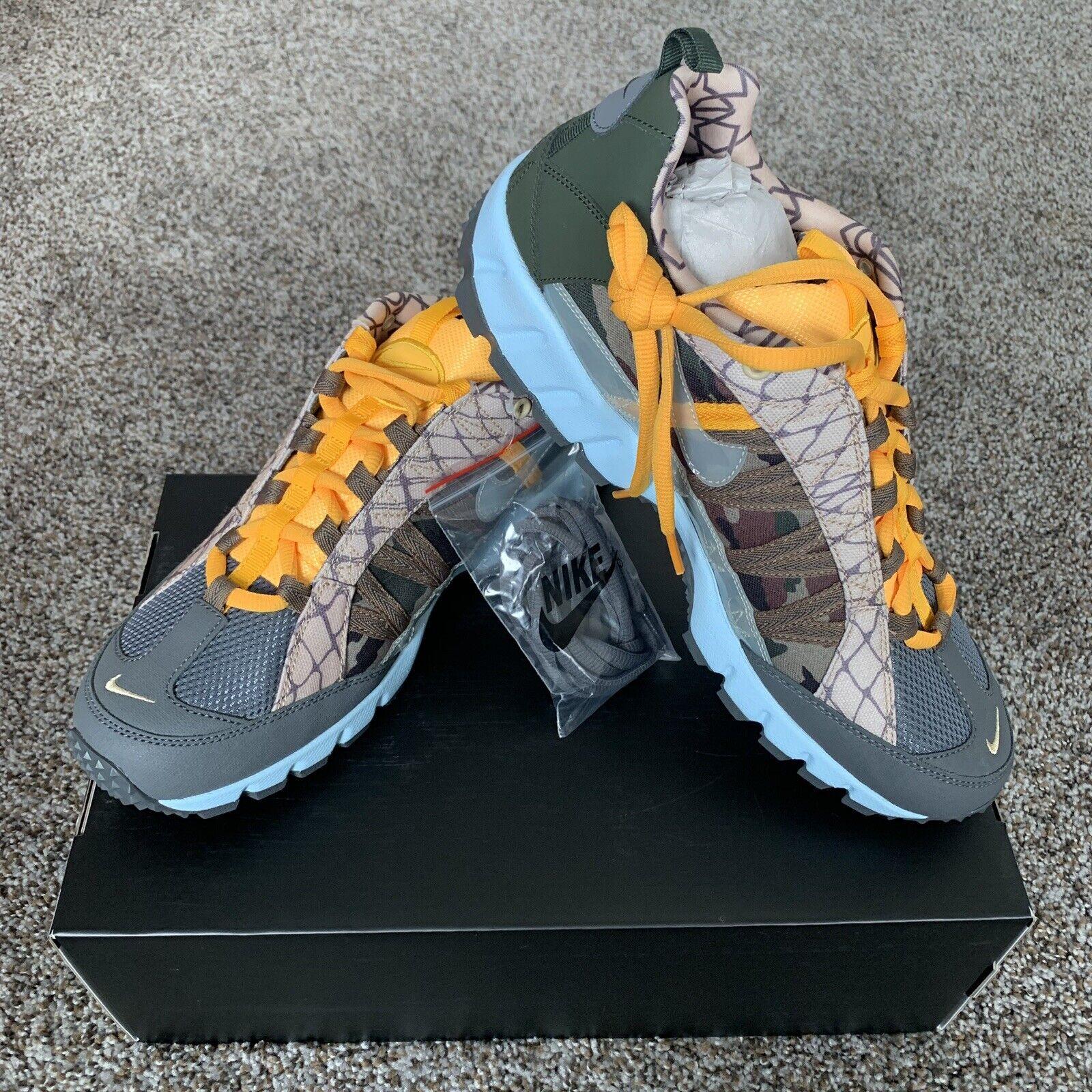 Nike Air Humara '17 Premium AO2606-002 Dark Grey Army Camo Trail Hiking Mens 11