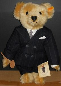 nmib steiff ralph lauren polo bear chairman of the board i ebay