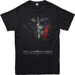 Transformateur-t-shirt-Optimus-Prime-Visage-le-dernier-chevalier-Cadeau-Adultes-amp-Enfants-Tee-Top