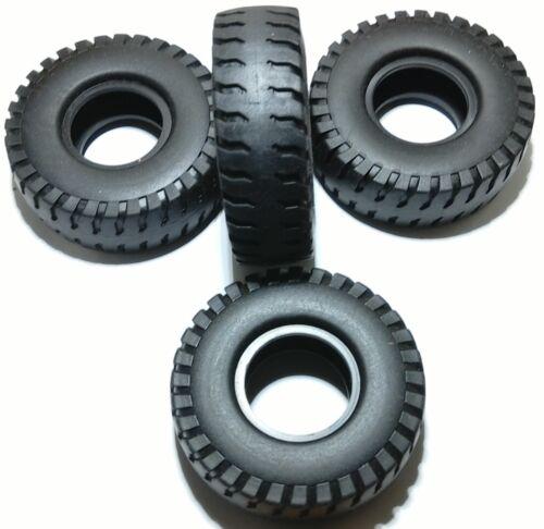 1 Reifen je Kauf NZG 403 70mm Muldenkipper Reifen f Caterpillar 793 C 1//50