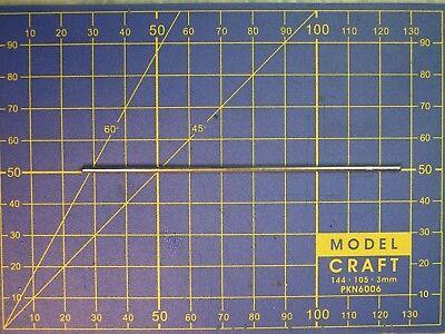 axe acier dia 1,5 x 100 mm moteur train modélisme ferroviaire wagon voiture HO