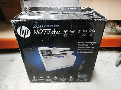 NEW HP LaserJet Pro M277dw Wireless Color All-In-One Laser Printer Scanner
