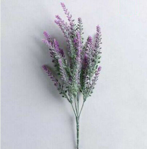 Artificial Lavender Flowers Bouquet Plants Wedding Grass Garden Home Party Decor