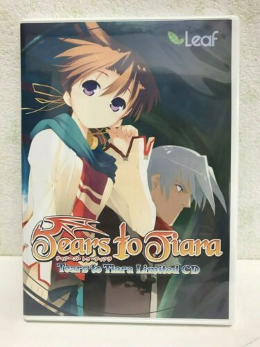 PC Win Game Tears to Tiara Limited CD Official Gift Japan Bishoujo Eroge FS NEW
