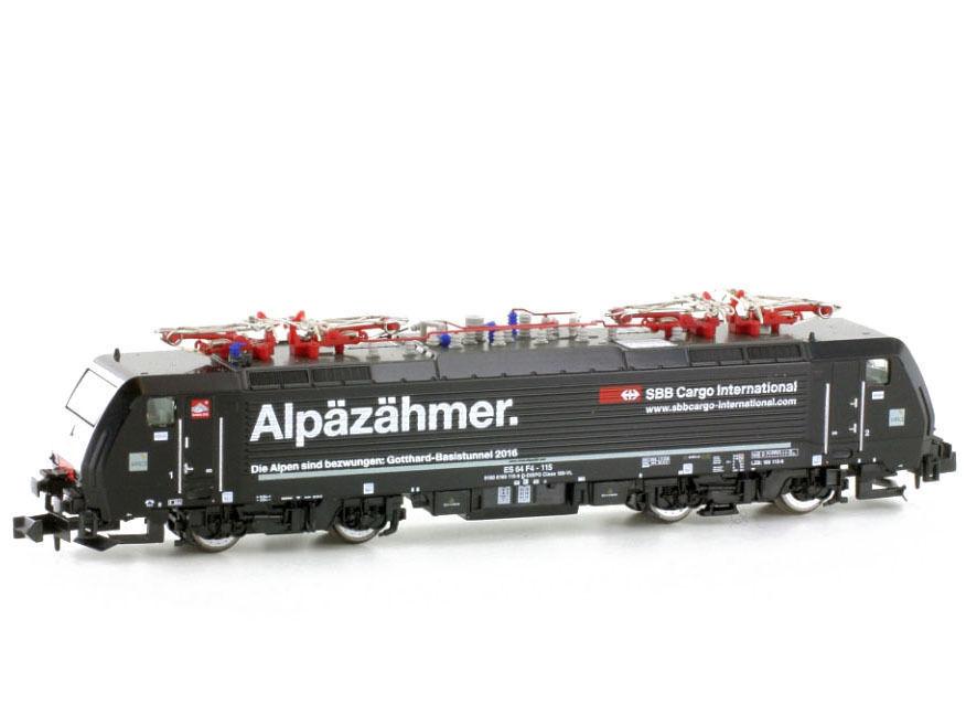 Escala N - Hobbytrain Locomotora Eléctrica BR189 Mrce   SBB Cochego con Sonido -