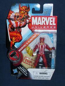 """Super Hero Comic Book Marvel Universe Figure 3-4/"""" 3.75/"""" Sunfire"""
