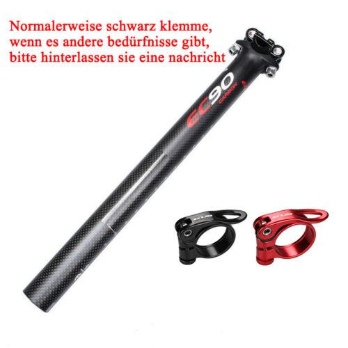 MTB Fahrrad Sattelstütze Sattelklemme Sättel 27.2//30.8//31.6 Patentsattelstütze