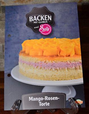 Mango Rosen Torte Backen Mit Globus Und Sally Rezept Rezeptkarte