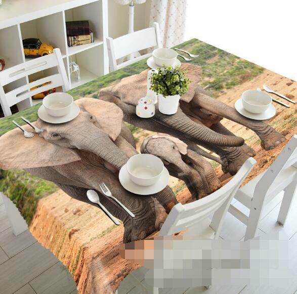 3D Animas  532 Tablecloth Table Cover Cloth Birthday Party Event AJ WALLPAPER AU