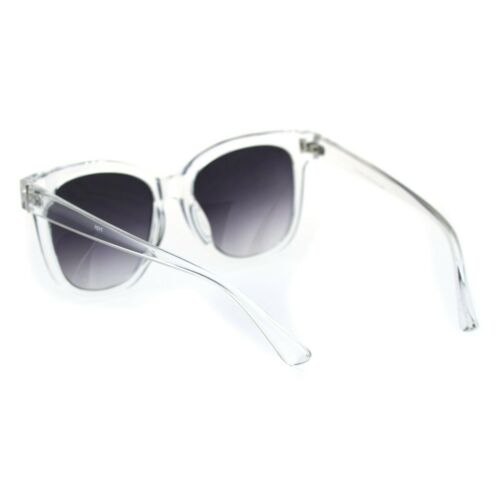 Retro Horn Rim Hipster Plastic Fashion Sunglasses