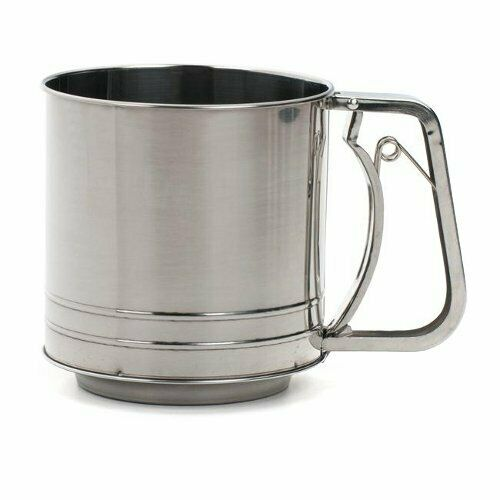 Damaged Packaging RSVP Endurance Stainless Steel 5-Cup Dry Flour Sifter