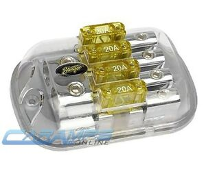 stinger spd5623 0g to 4g 4 position maxi fuse inline power image is loading stinger spd5623 0g to 4g 4 position maxi