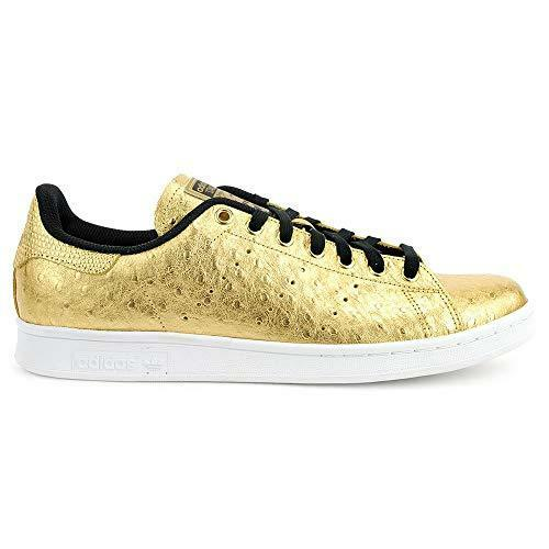 Adidas Originals Stan Smith Metallic oro bianca nero  AQ4705 Men's sz 10 scarpe  fino al 60% di sconto