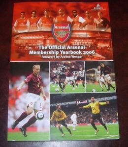 ARSENAL-OFFICIAL-YEARBOOK-2005-06-BRAND-NEW