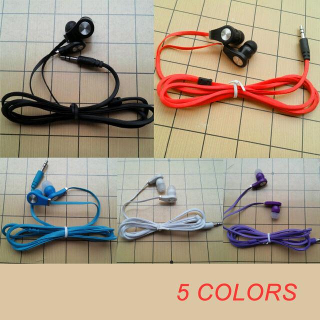 3.5mm écouteurs intra-auriculaires stéréo casque écouteurs casque avec micro 1pc
