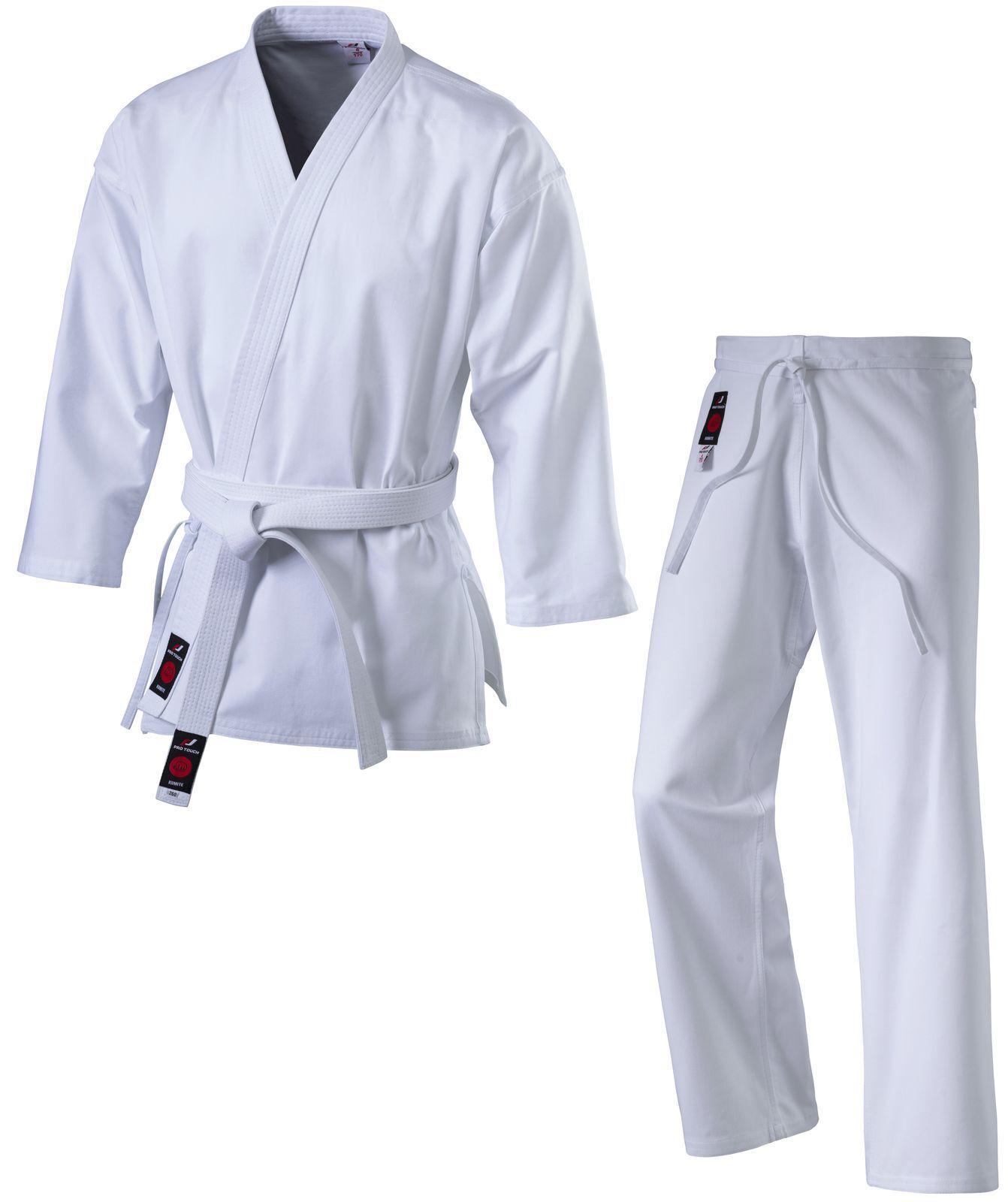 Pro Touch Unisex Kinder Kinder Kinder Herren Karateanzug Karate Anzug Kumite weiss bc3fd0