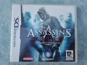 Assassin S Creed 1 Altair S Chronicles Nintendo Ds 3ds 2ds Pal