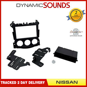 CT24NS28-Single-Double-Din-Stereo-Fascia-Panel-Adaptor-Kit-For-Nissan-370Z-2009-gt