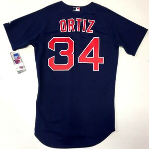 a2ab4b8fb86 Image is loading DAVID-ORTIZ-BOSTON-RED-SOX-NAVY-ALTERNATE-AUTHENTIC-