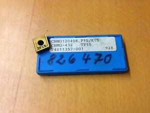 WENDEPLATTEN 10 x SECO CNMG120412-MR7 TP2501 WENDESCHNEIDPLATTEN CARBIDE INSERTS