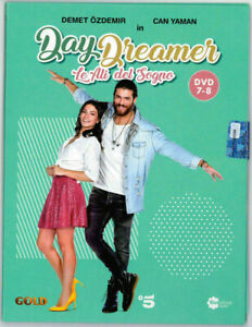 DVD-DAYDREAMER-LE-ALI-DEL-SOGNO-DVD-7-e-8-Booklet-Can-Yaman-10-Puntate