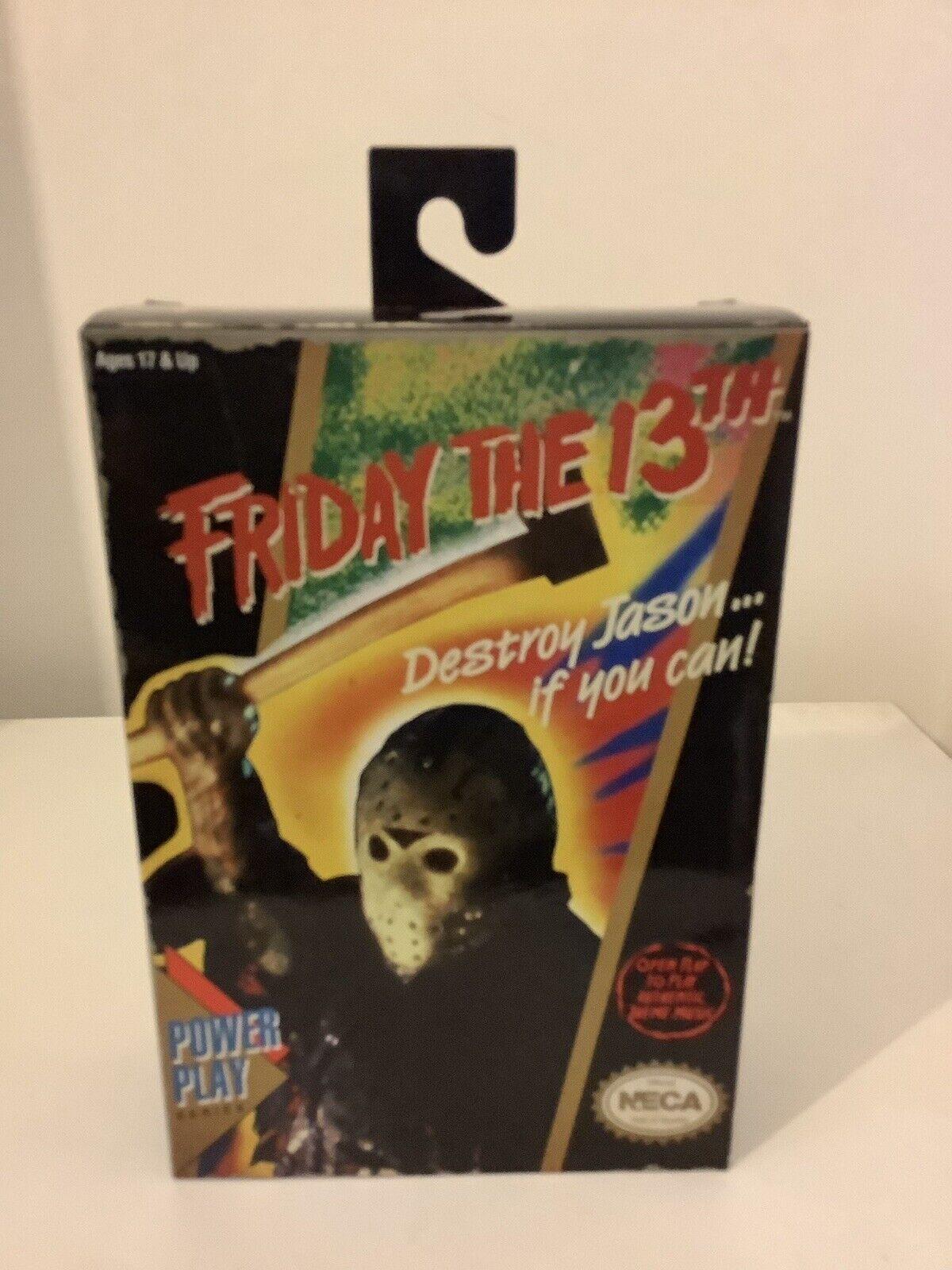 Friday The 13th Jason Classic VGA Appearance Action Figure NECA